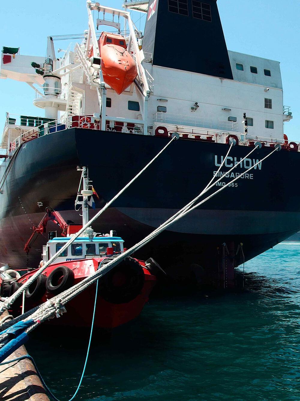 ship supply in algeciras port